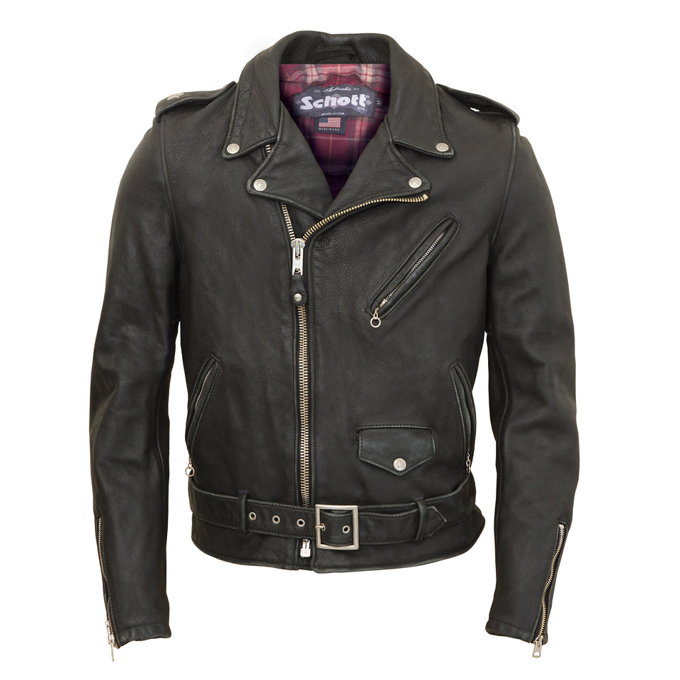 Schott 626VN Jacket - Black - Ball and Buck