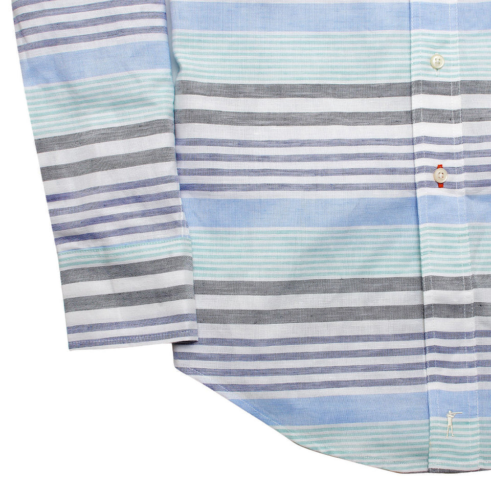Scout Shirt - Blackfoot River Stripe