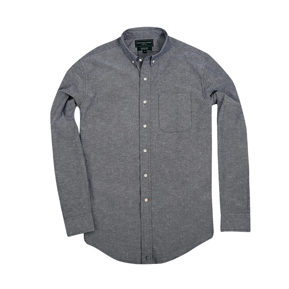 Scout Shirt w/ Pocket - Chambray - Ball and Buck