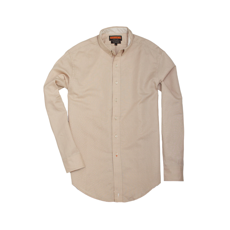 Scout Shirt - Ecru - Ball and Buck