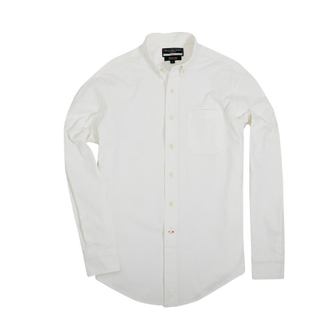 Scout Shirt w/ Pocket +, White Coolmax - featured image