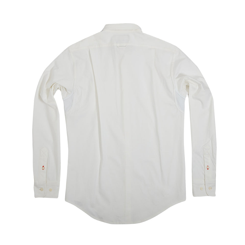 Scout Shirt w/ Pocket +, White Coolmax - Ball and Buck