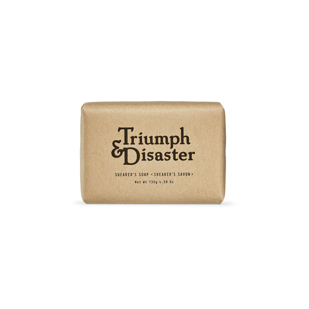 Triumph and Disaster - Shearer's Soap