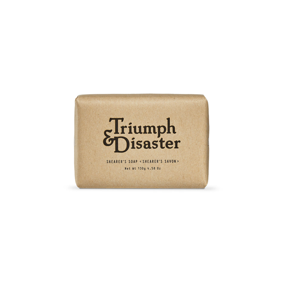 Triumph and Disaster - Shearer's Soap - Ball and Buck
