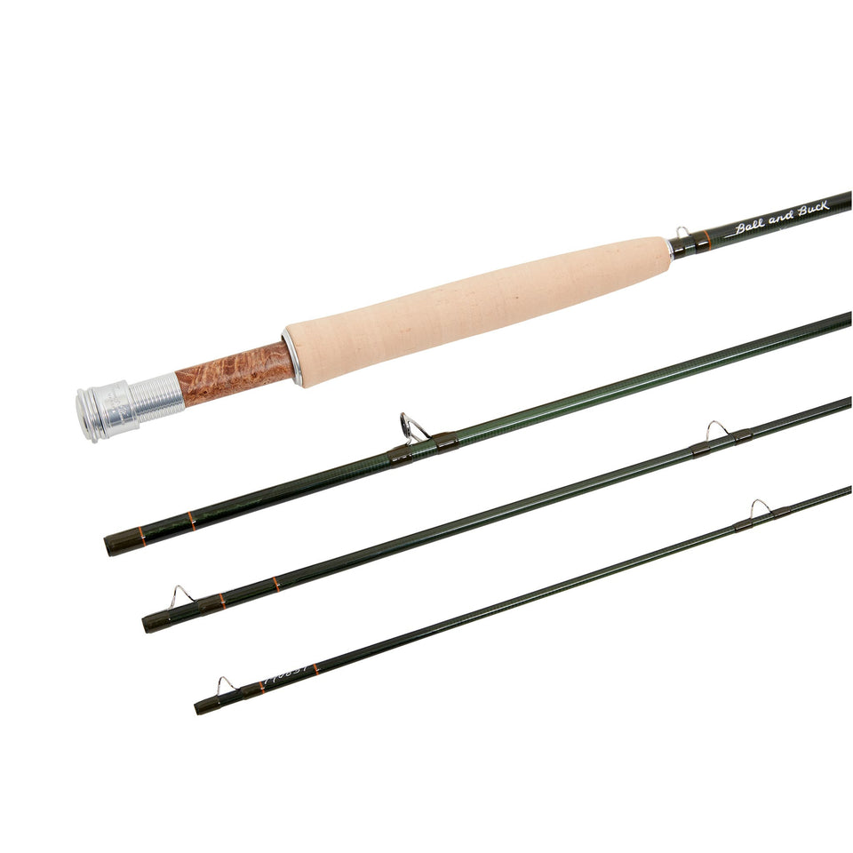 Madison Fly Rod -  5wt Graphite - Ball and Buck