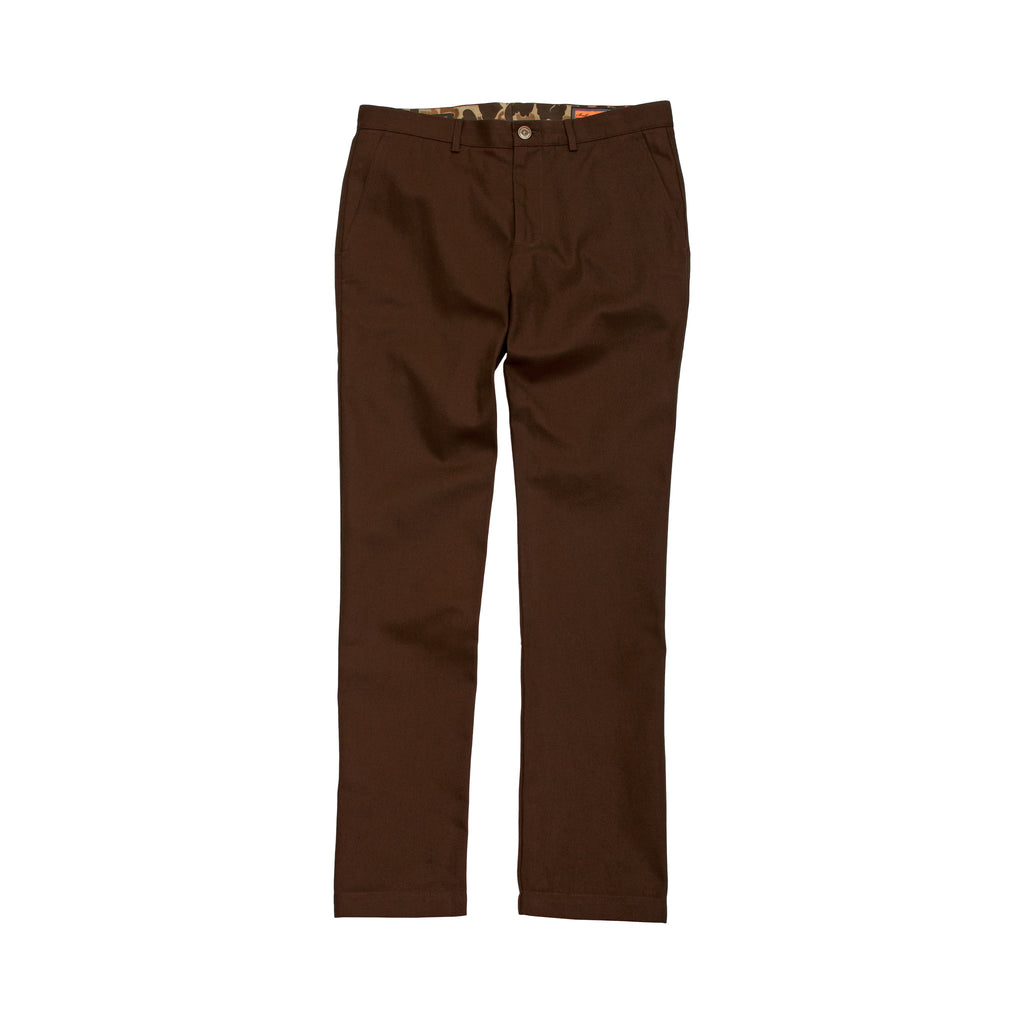 The 6 Point Duck Cotton Pant, Chestnut