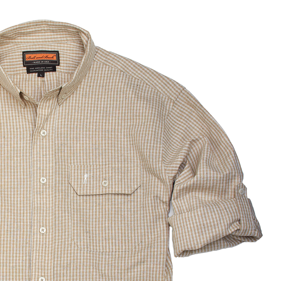 Anglers Shirt - Tolland - Ball and Buck