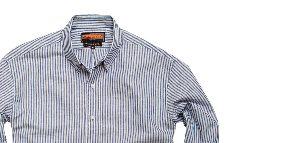 Scout Shirt - Ennis Stripe - Ball and Buck