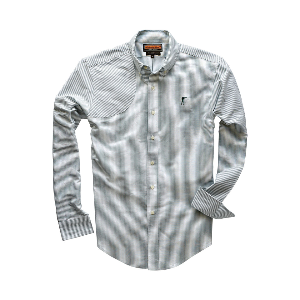 Hunters Shirt - Forest Stripe - Ball and Buck