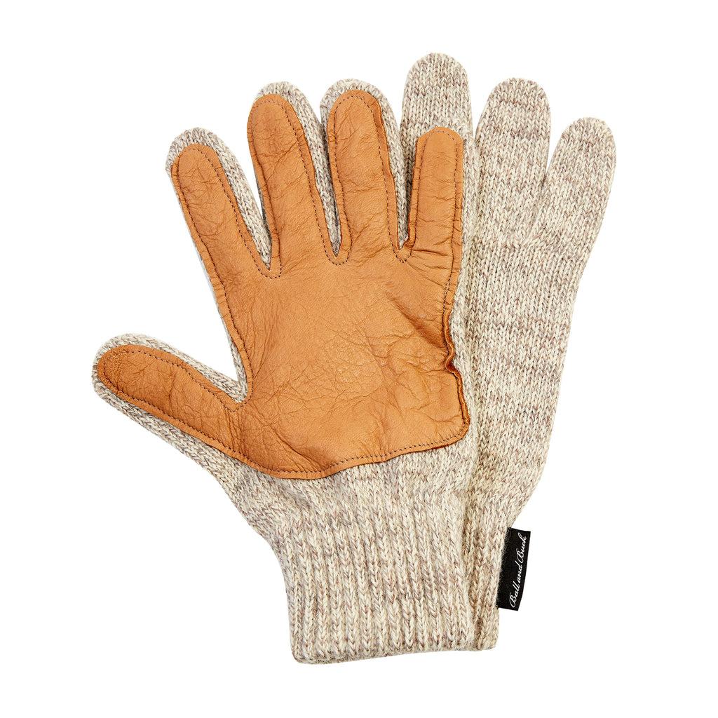 Wool Glove - Natural/Tan