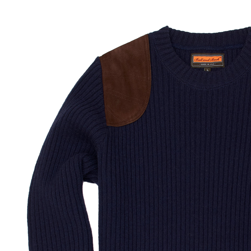 The Commando Sweater, Navy