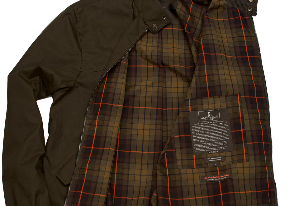 Harrington Jacket - Dark Olive