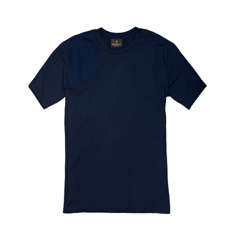 The Hunters Tee, Navy/Navy Duck
