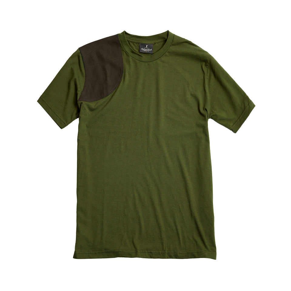 The Hunters Tee, Olive/Olive Duck - Ball and Buck