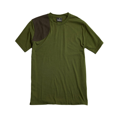 The Hunters Tee, Olive/Olive Duck