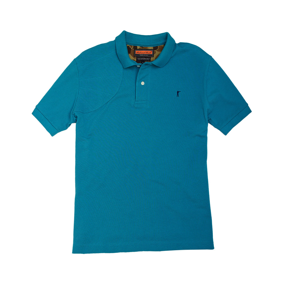 Hunters Polo - Teal - Ball and Buck