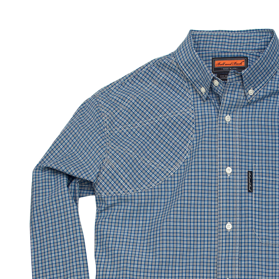 Hunters Shirt 1.0 w/Pocket - Farmington - Ball and Buck