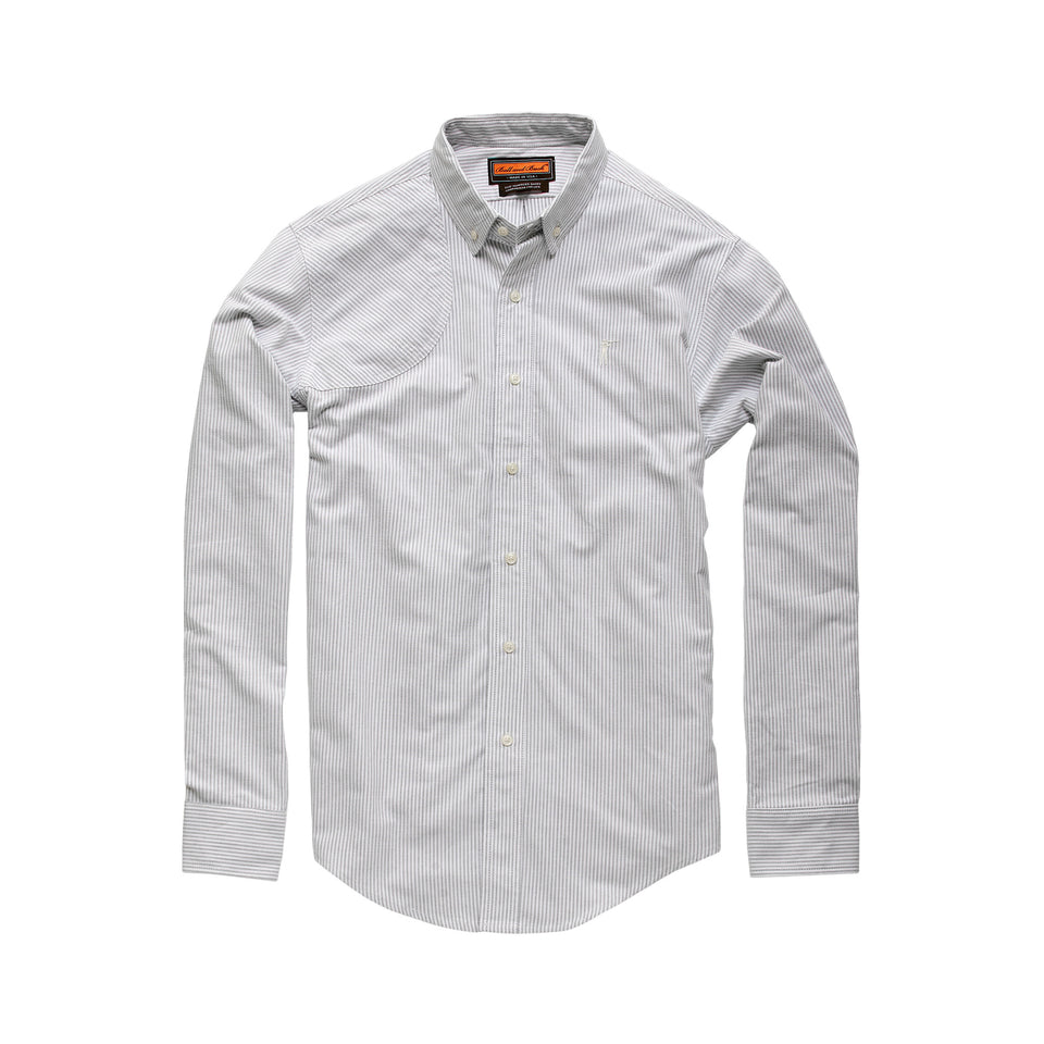 Hunters Shirt 1.0 - Grey Stripe - Ball and Buck