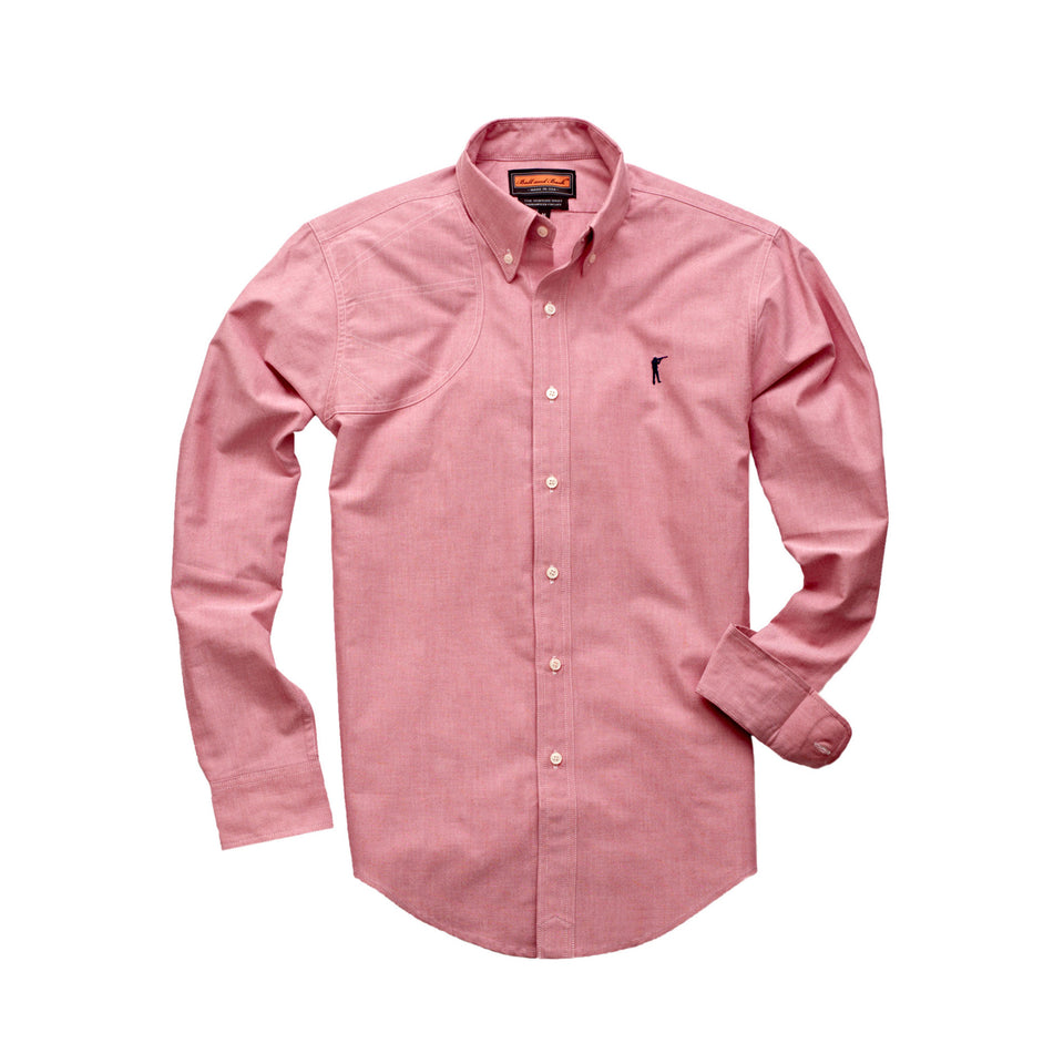 Hunters Shirt 1.0 - Red Oxford - Ball and Buck