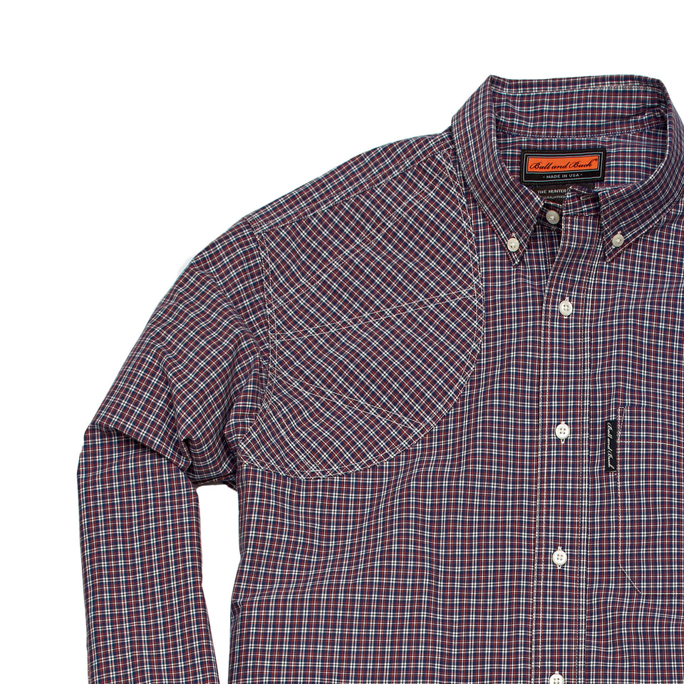 Hunters Shirt w/Pocket - Bennett - Ball and Buck