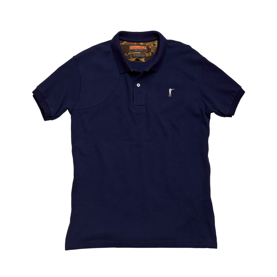 Hunters Polo - Navy - Ball and Buck