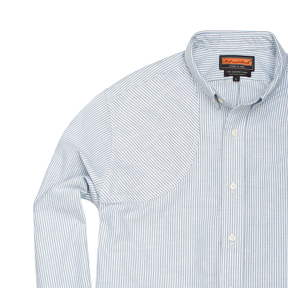 Hunters Shirt - Lake Stripe - Ball and Buck