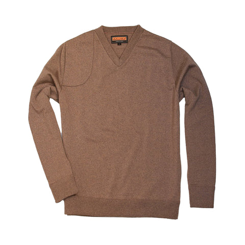The Lightweight Merino V-Neck Sweater, Tan