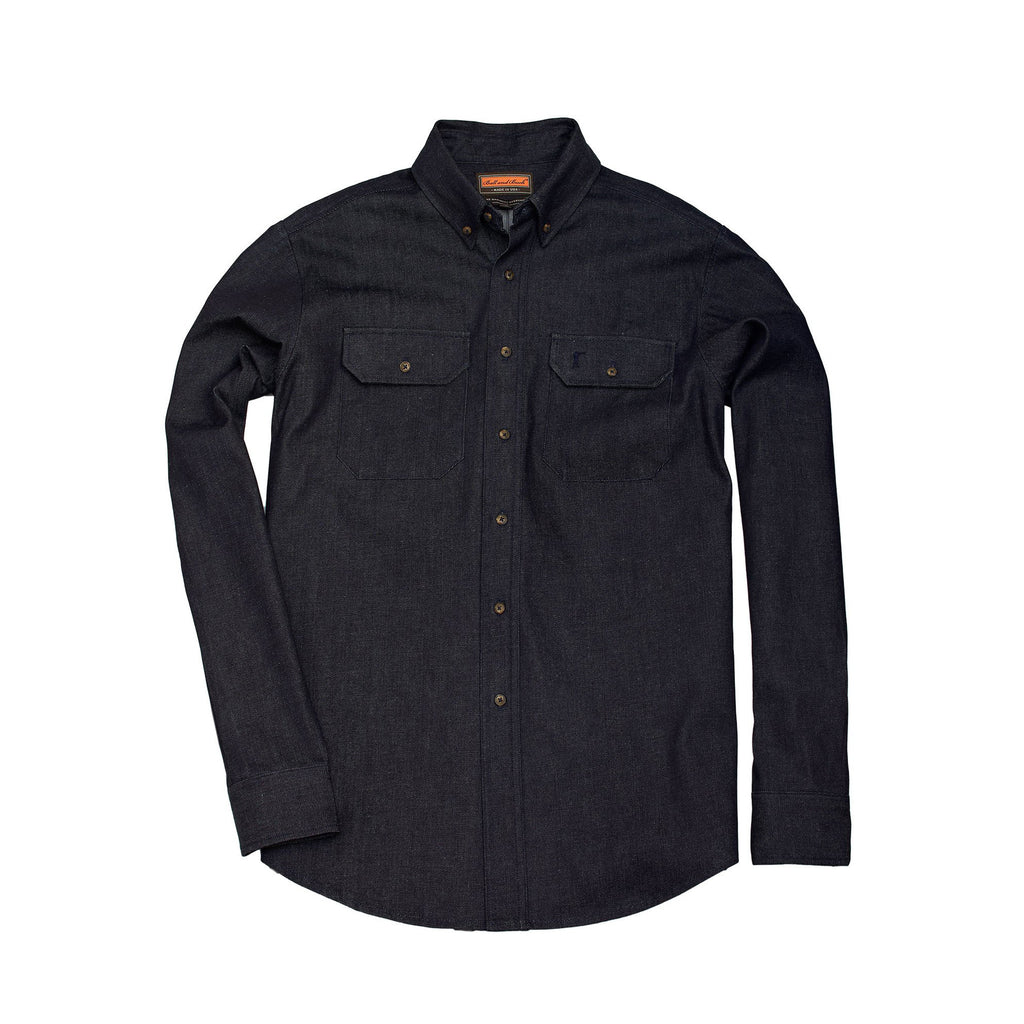 The Mariners Overshirt, Distilled Indigo