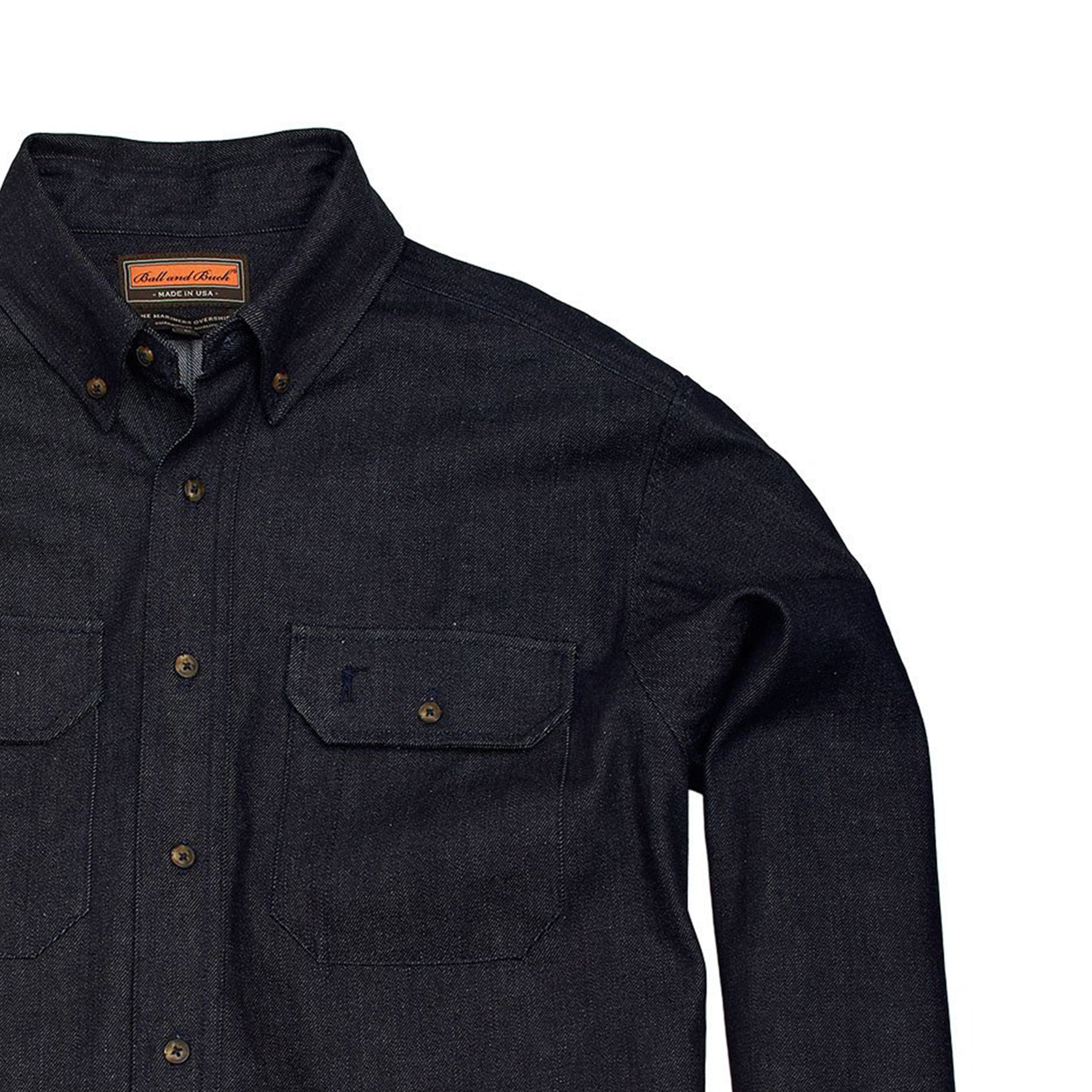 Mariners Overshirt - Distilled Indigo