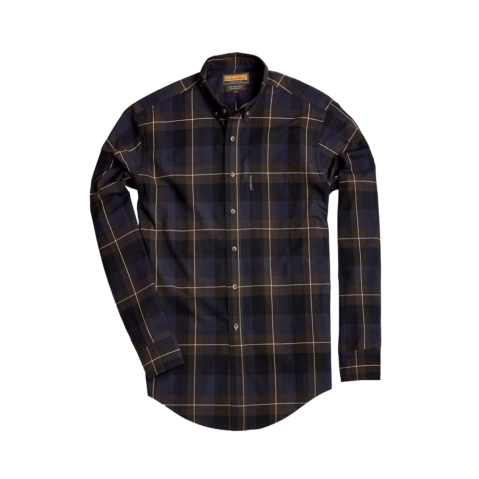 Scout Shirt w/Pocket - Briar - Ball and Buck