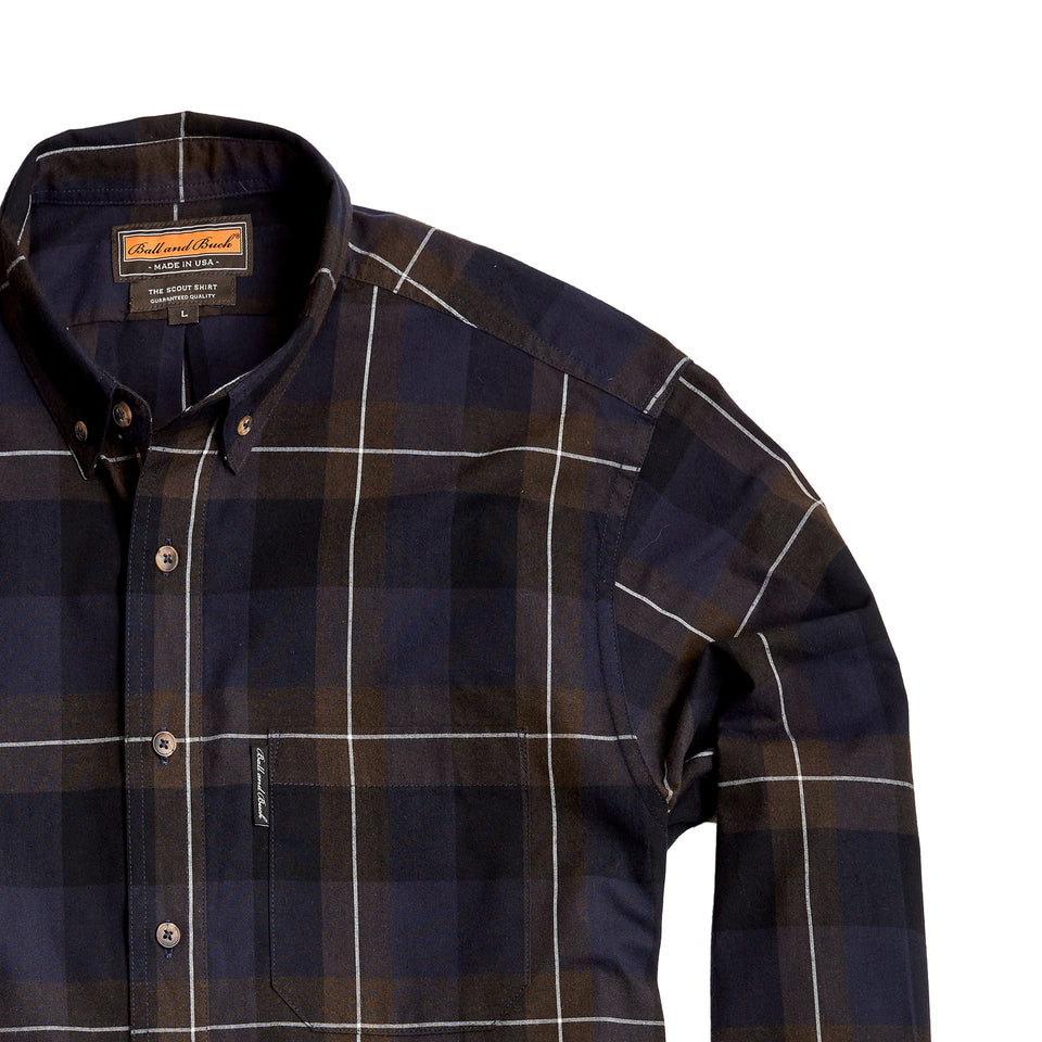 Scout Shirt w/Pocket - Briar