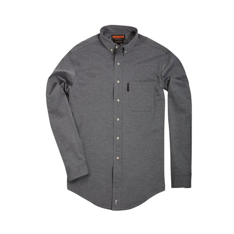 The Scout Shirt w/ Pocket + Grey