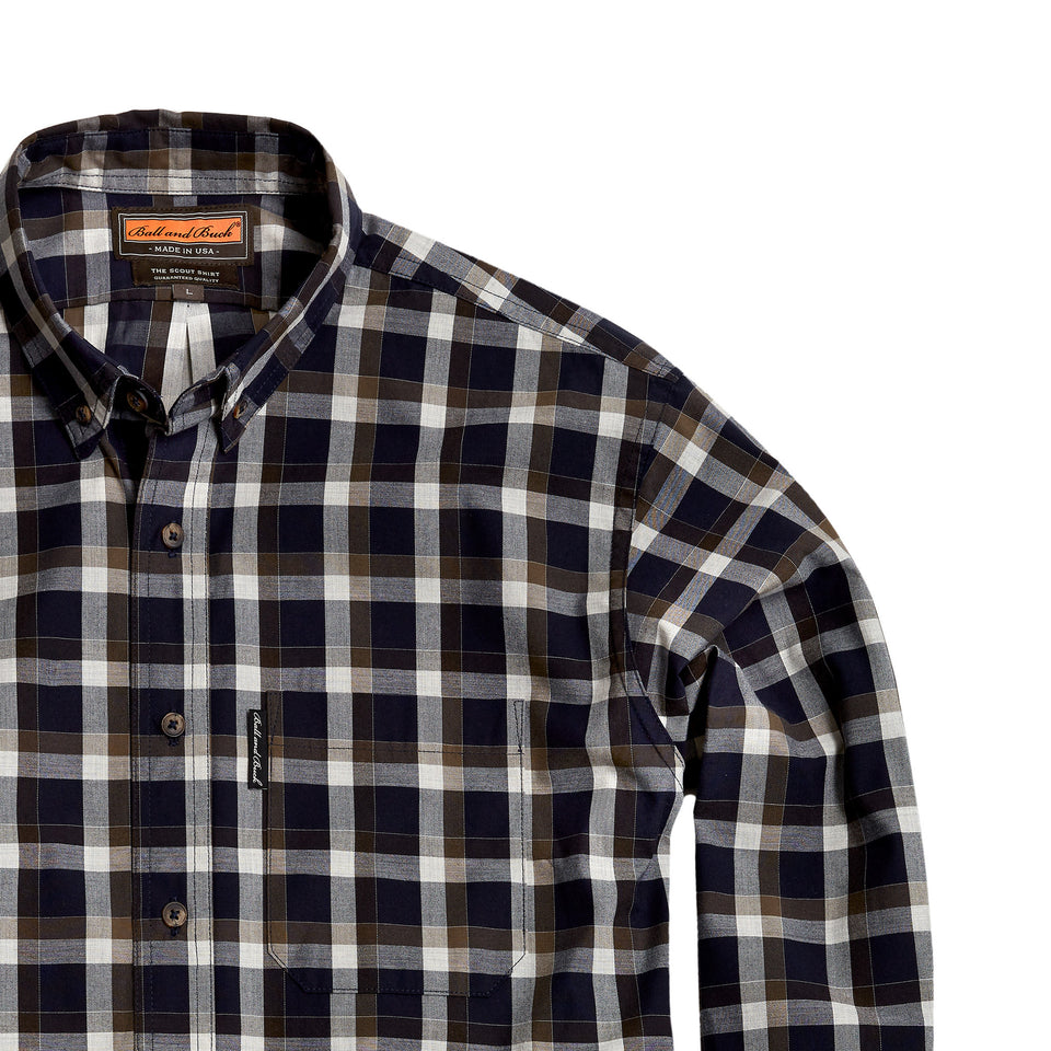Scout Shirt w/Pocket - Smithgall - Ball and Buck