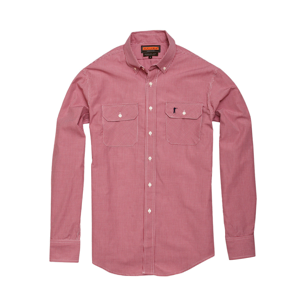 The Anglers Shirt, Wild Salmon Gingham