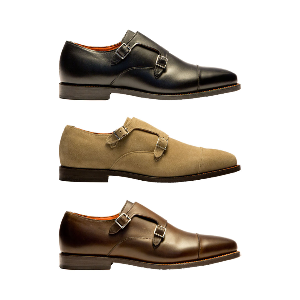 Allen Edmonds x Ball and Buck Double Monk Strap - Ball and Buck