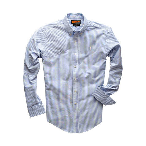 Hunters Shirt - Blue Stripe - Ball and Buck