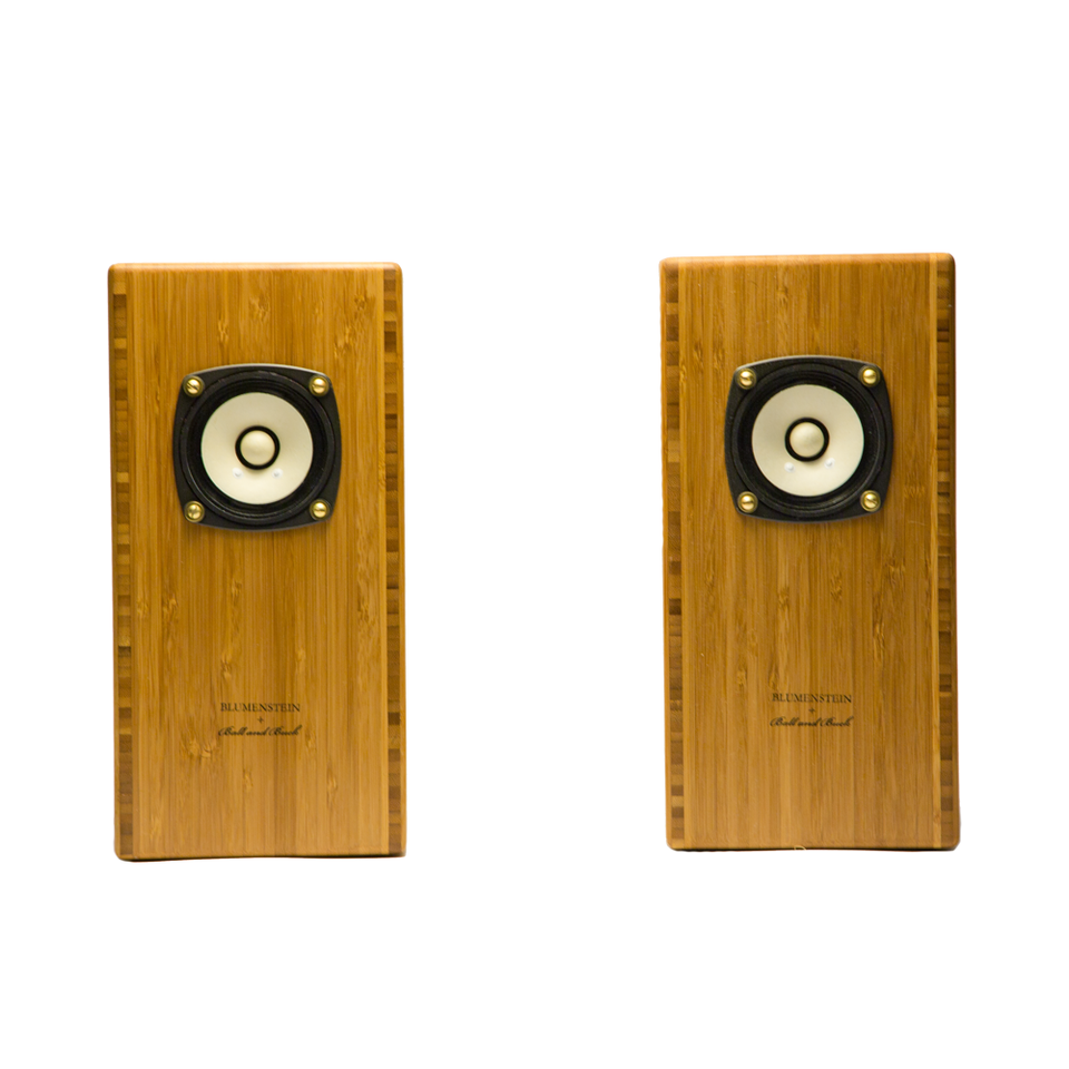 Ball and Buck X Blumenstein Speakers