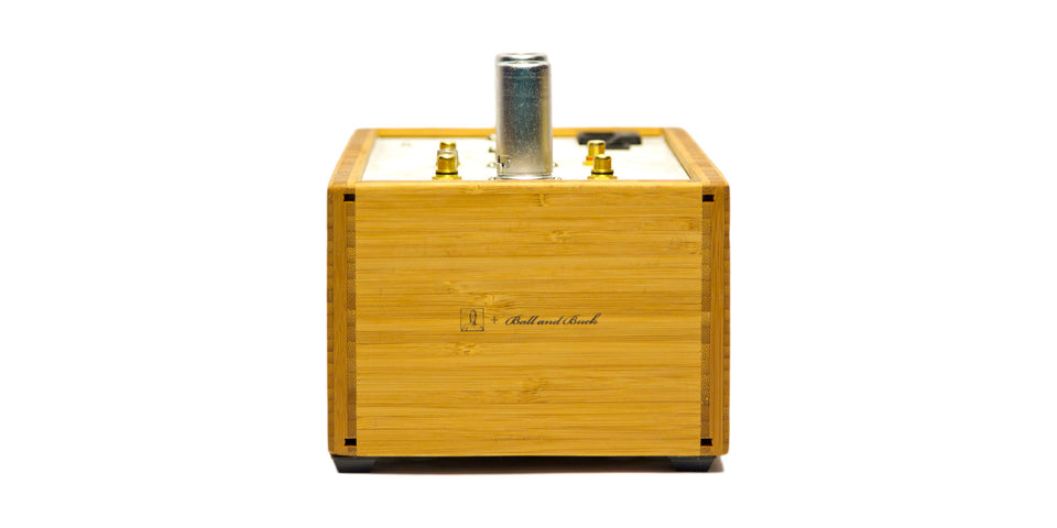 Ball and Buck X Bottlehead Tube Amplifiers