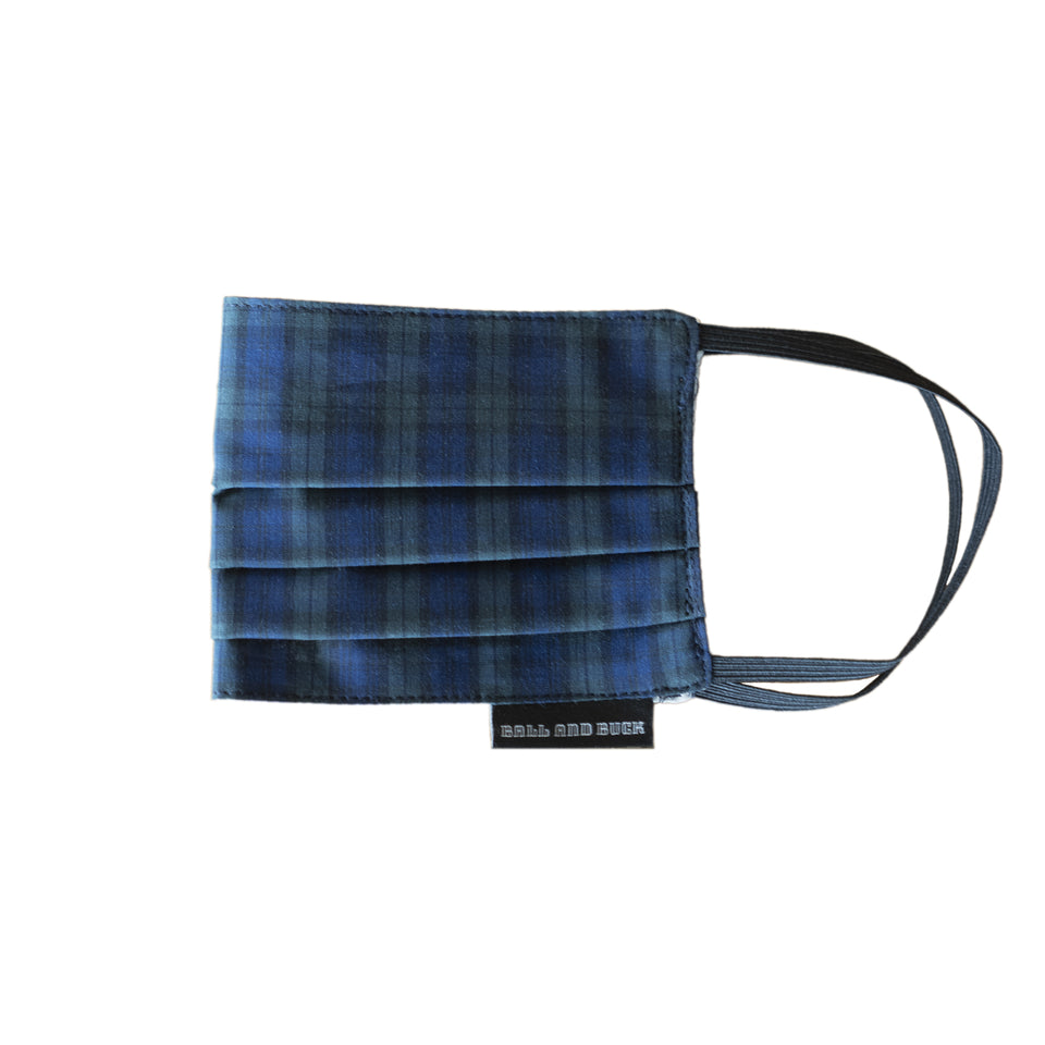 Blackwatch Plaid Face Mask - Ball and Buck