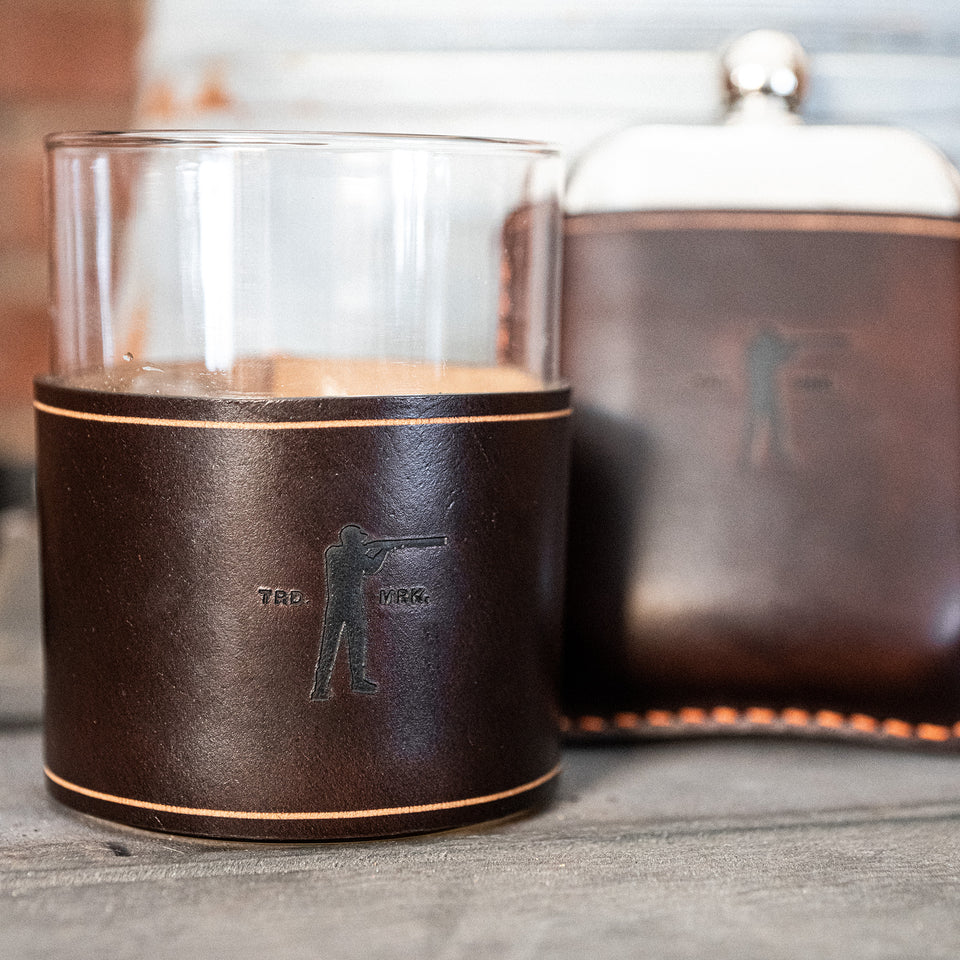 Roger Whiskey Tumbler- Hickory - Ball and Buck