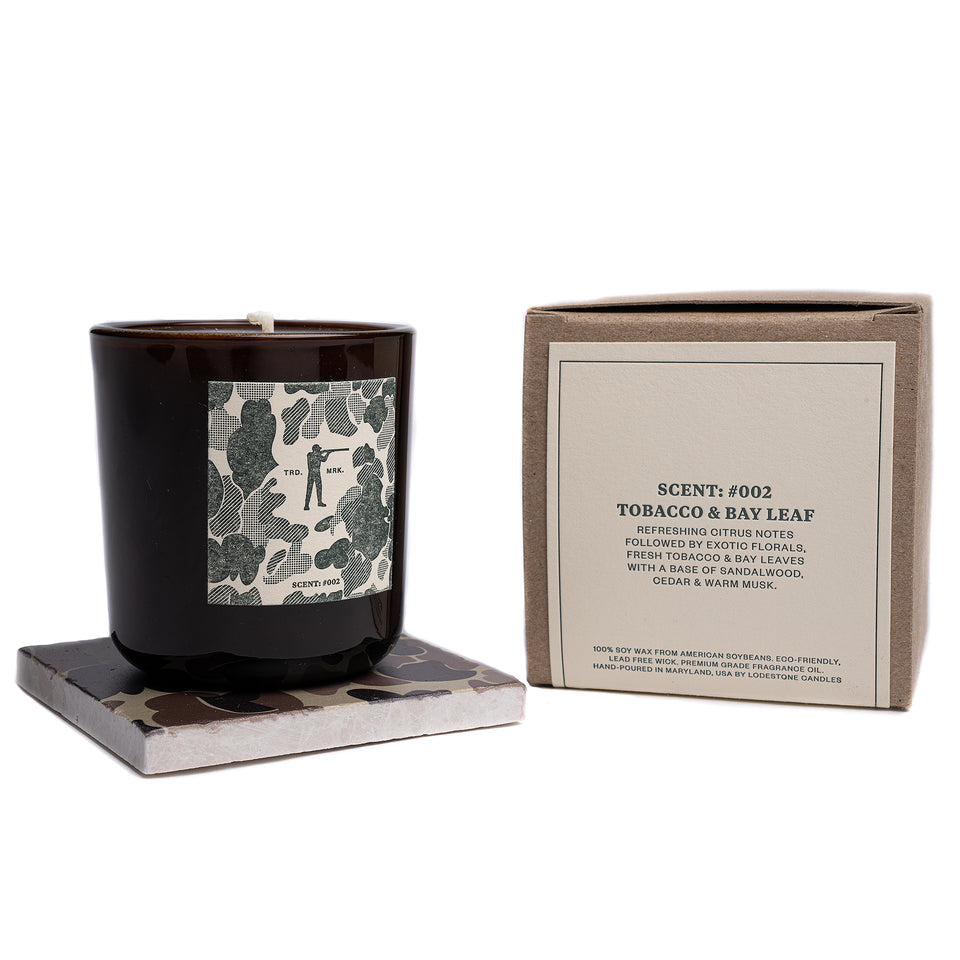 Roger Candle #002 - Tobacco & Bay Leaf