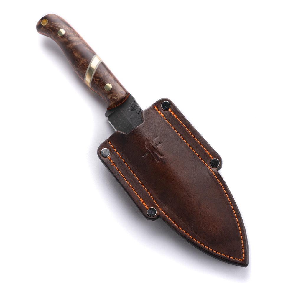Half Face Blades X Ball and Buck Field Knife - Ball and Buck