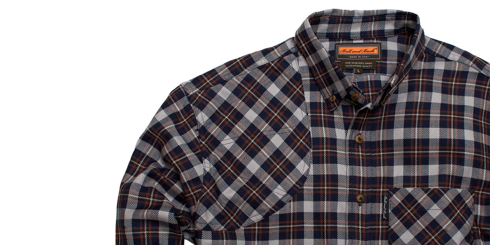 Hunters Shirt - Tinmouth - Ball and Buck
