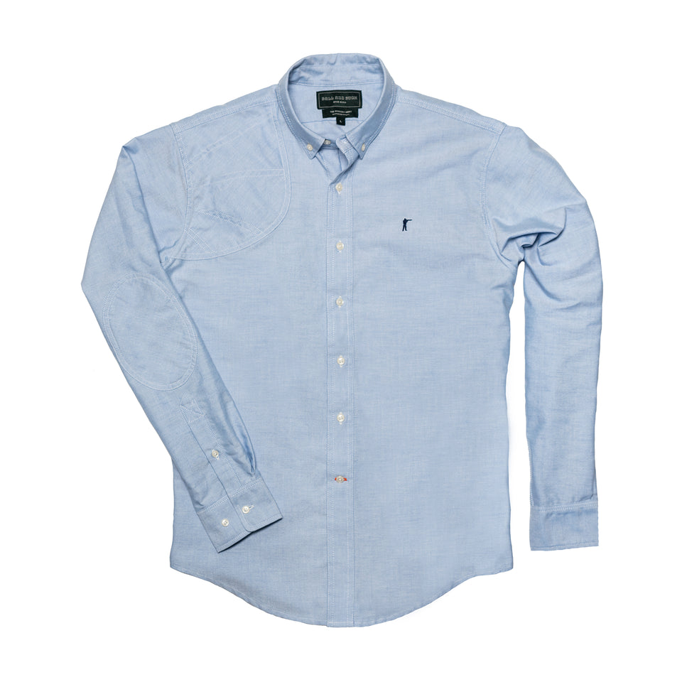 Hunters Shirt 2.0 - Blue Oxford - Ball and Buck