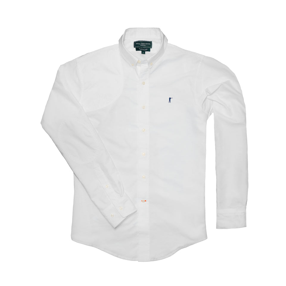 Hunters Shirt 2.0 - White Oxford