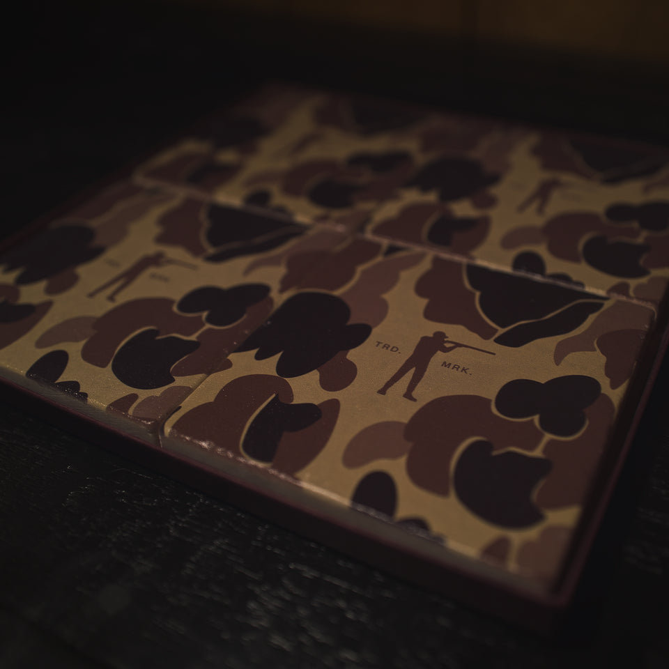 Roger Marble Coasters - Original Camo (Set of 4)