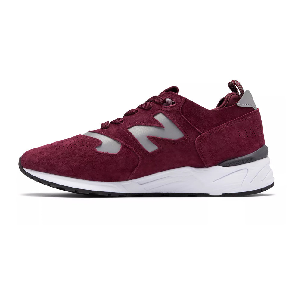 New Balance M999RTG - Burgundy with White - Ball and Buck