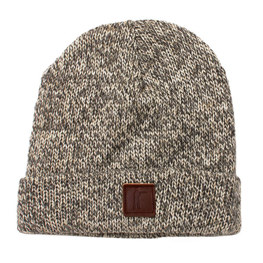Roger Knit Hat - Charcoal Ragg Wool