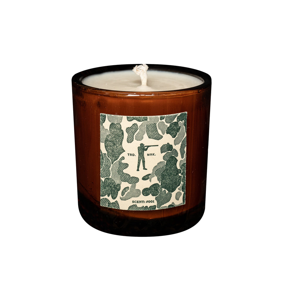 Roger Candle #001 - Sandalwood Moss Lavender - Ball and Buck