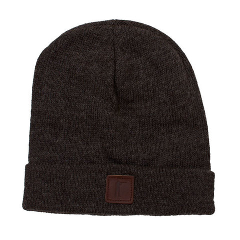 Roger Knit Hat - Charcoal Merino/Alpaca - featured image